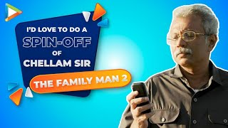 Chellam Sir Exclusive- How many mobile phones does he have? He REACTS | The Family Man 2 - HUNGAMA