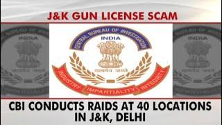 CBI Raids 40 Locations, Senior IAS Officer's Home In Jbackslashu0026K Gun License Scam - NDTV
