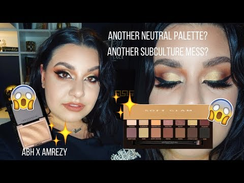 connectYoutube - ABH SOFT GLAM PALETTE & AMREZY HIGHLIGHTER - FIRST IMPRESSIONS/REVIEW | Celina Pereira