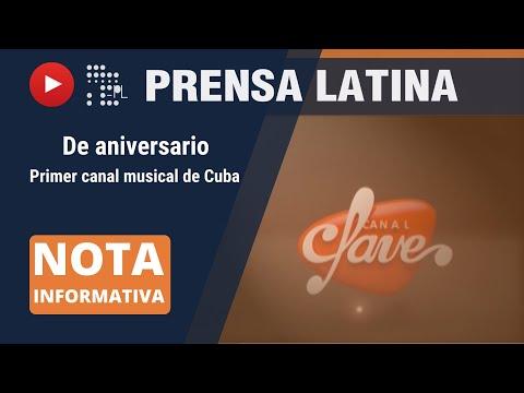 Celebra canal musical de Cuba ocho años de creación