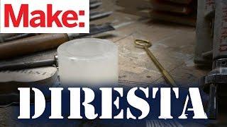 DiResta: Alabaster Candle Holder