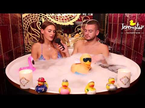 connectYoutube - Marie (Secret Story 11) dans le bain de Jeremstar - INTERVIEW