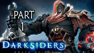 Darksiders Walkthrough - Part 1 Prepare for War Let's Play XBOX PS3 PC ( Gameplay / Commentary )