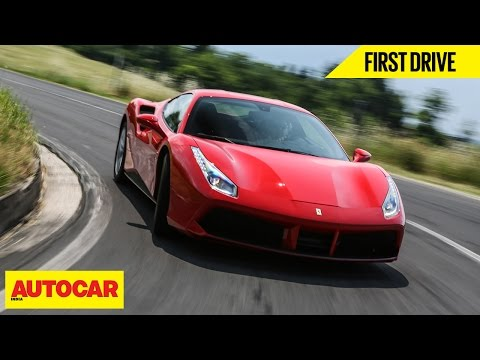 ferrari 488 gtb first drive autocar india. Black Bedroom Furniture Sets. Home Design Ideas
