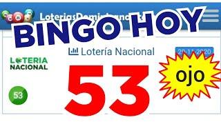 RESULTADOS de HOY...!! (( 53 )) BINGO hoy..! loteria NACIONAL DE HOY..! Números reales 05 para hoy