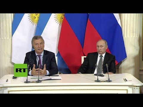 connectYoutube - Macri agradece la ayuda de Rusia en la búsqueda del ARA San Juan
