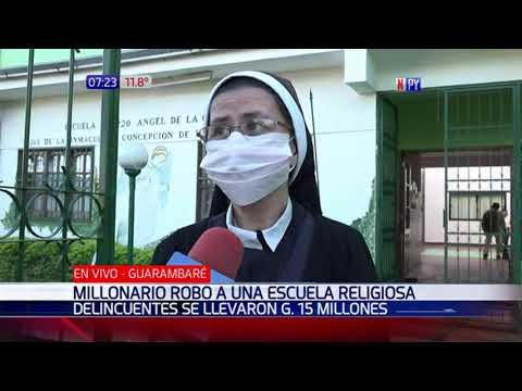 Millonario robo a una escuela religiosa