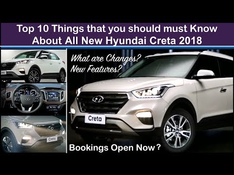 Creta 2018 Top 10 Things To Know - Features,Interior and Price | Old vs New Creta 2018 Changes