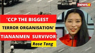 'CCP Biggest Terror Organisation' | Tiananmen Massacre Survivor | #FreedomFromChina | NewsX - NEWSXLIVE
