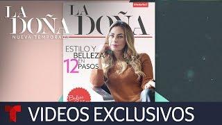 La Doña   Estilo y belleza de La Doña en 12 pasos   Telemundo Novelas