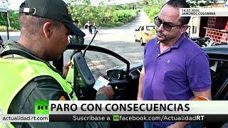 En Colombia un militar muere y otros seis resultan heridos al tercer día de paro armado