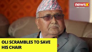 Oli Scrambles to Save his chair   Could Strike a Deal to Survive    NewsX - NEWSXLIVE