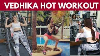 Actress Vedhika Hot Morning Gym Workouts  Video | Tollyawood Updates - RAJSHRITELUGU