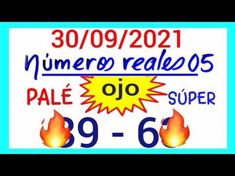 NÚMEROS PARA HOY 30/09/21 DE SEPTIEMBRE PARA TODAS LAS LOTERÍAS...!! Números reales 05 para hoy...!!