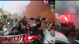 Estos desmanes de hinchas de la U provocaron suspensión de Liga 1