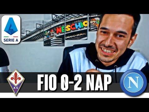 NAPOLI A UN PASSO DALLA CHAMPIONS | Fiorentina-Napoli 0-2