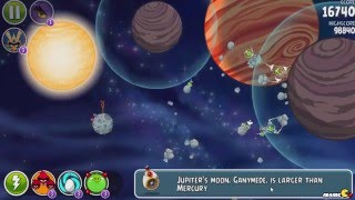 Angry Birds Space Solar System 10-1 To 10-10 Walkthrough 3 Star! iOS/Android
