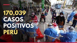 Coronavirus en Perú: 170,039 la cifra de casos positivos en Perú