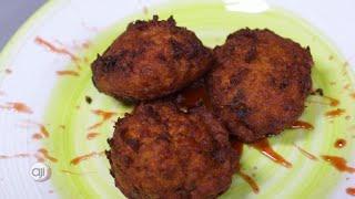 Receta Ají: Torrejitas de vacalao con salsa de jalea y jengibre