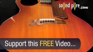 Ribbecke Halfling Pinbridge Archtop Acoustic Guitar Demo