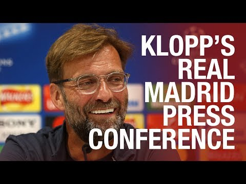 Klopp, Lovren and Mane preview the Champions League final