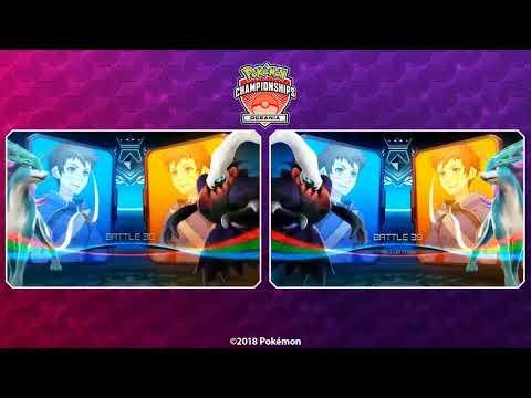 connectYoutube - 2018 Pokémon Oceania International Championships: Pokkén Tournament Grand Finals