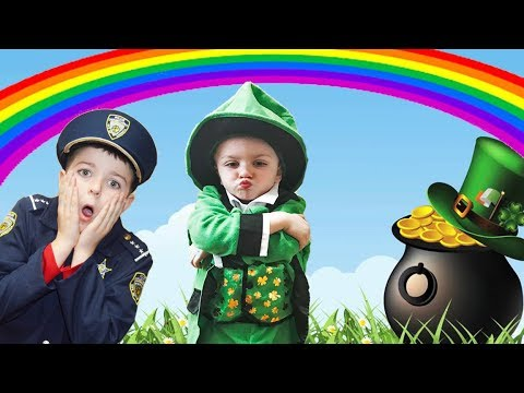 Where's my 4 Leaf Clover? Silly Fun Kids St. Patrick's Day Video!