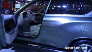 Ssangyong Liv 1 concept & Rodius 11 seater MPV (Uncut) - Auto Expo 2014 Delhi, India