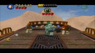 LEGO Star Wars II Walkthrough Episode VI Chapter 2 The Great Pit of Carkoon [1/3]