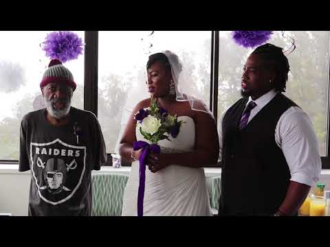 connectYoutube - She wanted her father to see her get married, so she moved the wedding to his hospital