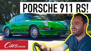 Porsche Carrera RS 1973 года - потрясающее воссоздание культовог