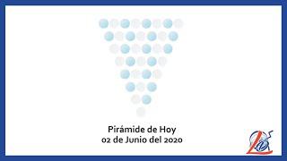 Pirámide del 02 de Junio del 2020 (Pirámide de la suerte, Pirámide del día, Pirámide de Hoy)