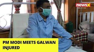PM Modi Meets Galwan Injured | NewsX - NEWSXLIVE