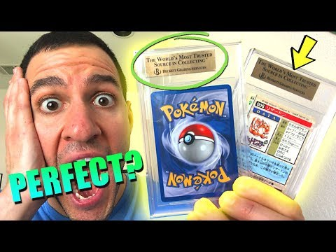 connectYoutube - GRADING RESULTS ARE IN! - WERE MY RARE POKEMON CARDS GEM MINT?!