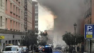 Madrid explosion: At least 2 people killed, 2 injured in blast from apparent gas leak, says mayor