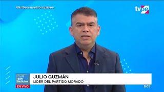 Café con Noticias | Julio Guzmán, presidente del Partido Morado