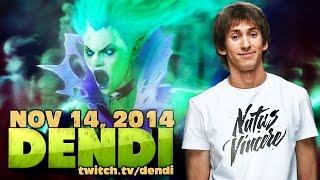 Dota 2 Stream: Na`Vi Dendi - Death Prophet (Gameplay & Commentary)
