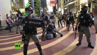 Protestas en Hong Kong contra la nueva ley de seguridad nacional