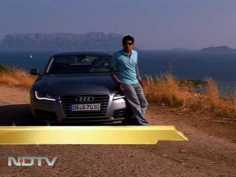NDTV drives the Audi A7