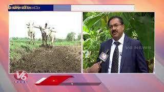 NABARD Chairman Chintala Govinda Rajulu F2F About Agriculture backslashu0026 Rural Development Schemes | V6 - V6NEWSTELUGU