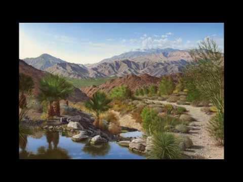 Graeme Baxter Paints Greater Palm Springs Landscape
