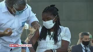 Brasil: A los pies de Cristo Redentor comienza la vacunación contra el covid-19.