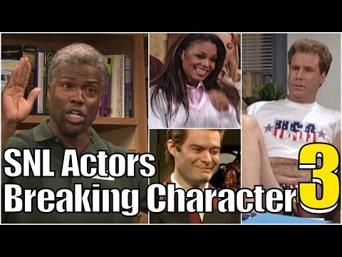 SNL Bloopers & Actors Breaking Character Compilation (Part 3)