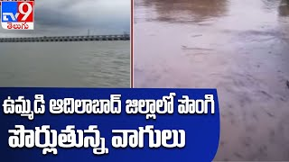 Huge Inflow to Sriram Sagar project due to Rains - TV9 - TV9