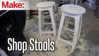 DiResta: Shop Stools for Bulleit Bourbon