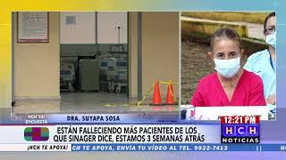 """#Covid19  Médicos de """"El Tórax"""" denuncian falta de personal, medicamentos, insumos, y lentitud de re"""