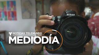 Enseñan a niños de bajos recursos a retratar su realidad en Cartagena   Noticias Telemundo