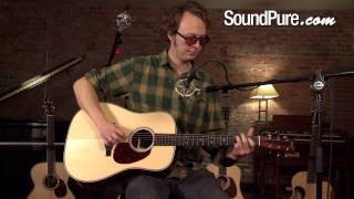 Bourgeois Vintage Dreadnought Acoustic Guitar Demo