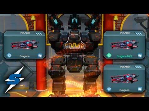 FURY DRAGOON X3 (Nuevo Camper) | SORILOKO War Robots