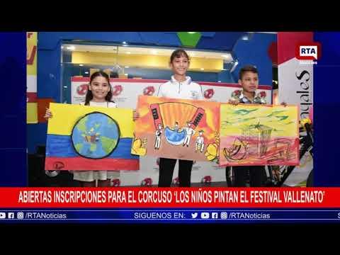 """Abiertas inscripciones para el concurso """"Los niños pintan el Festival Vallenato"""""""